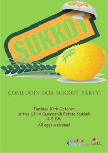 sukkos party queenshill