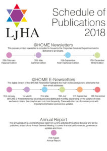 Schedule of Publications 2018 web
