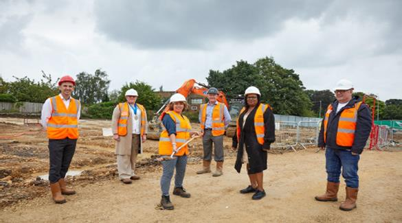 Media pic - laying foundation