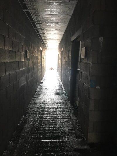 Sheltered corridor 050221