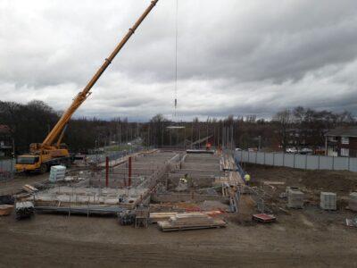 Crane precast concrete GN 240221